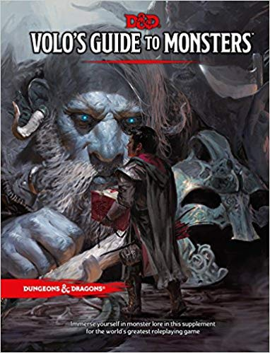 Click to check out the Volo's Guide to Monster on Amazon.com