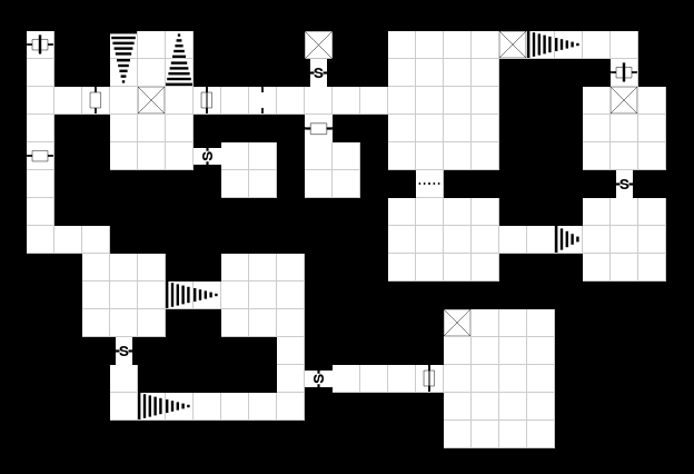 Example of D&D drawn with my Dungeon Map Designer