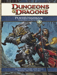 Cover of Dungeons & Dragons Player's Handbook by Wizard of the Coast