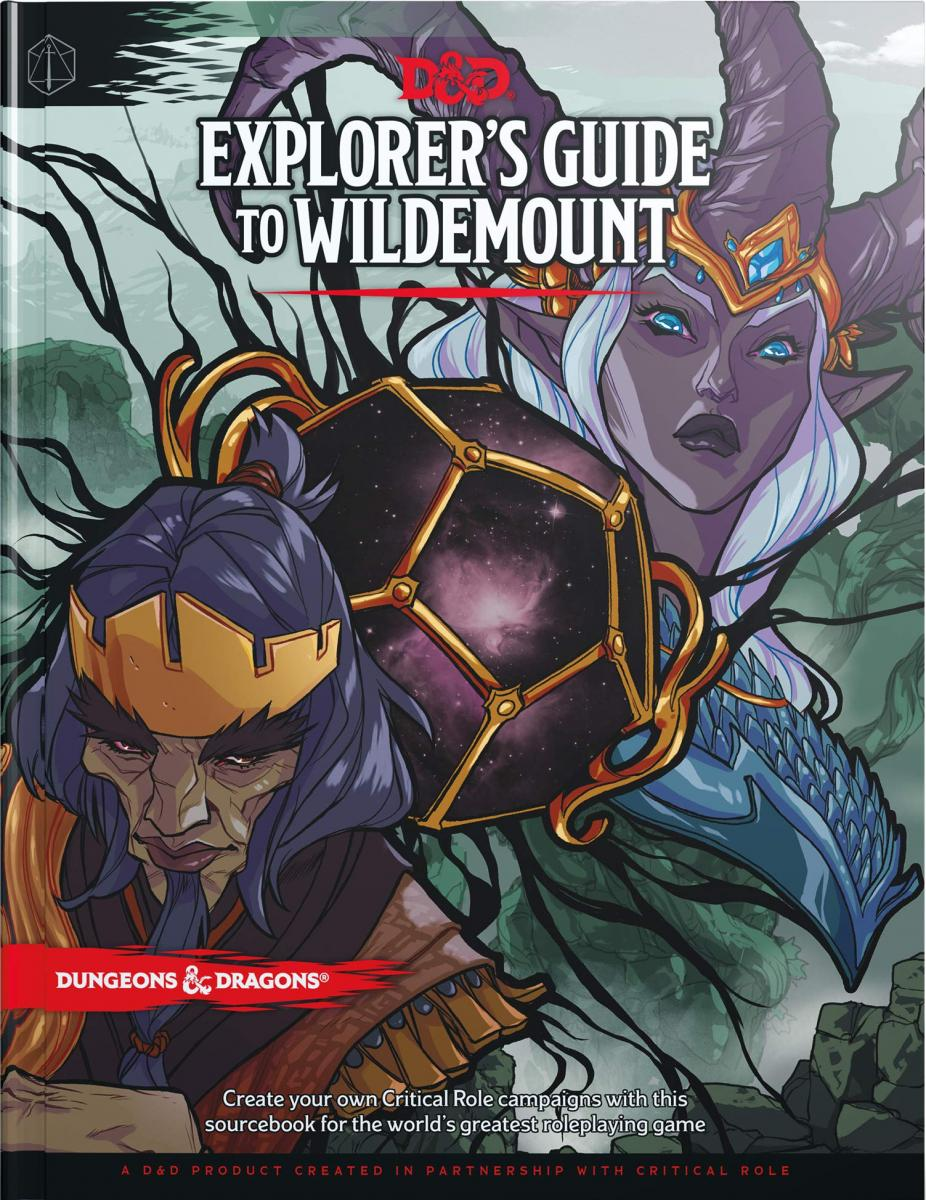 Explorer's Guide to Wildemount (D&D product in partnership with Critical Role)